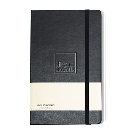 Picture of Moleskine® Hard Cover Plain Large Notebook
