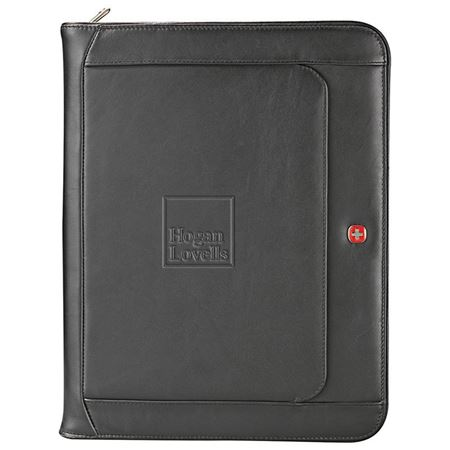Picture of Wenger® Exec Leather Zippered Padfolio Bundle Set