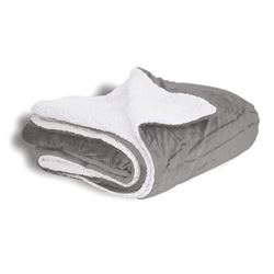 Picture of Grey Sherpa Blanket