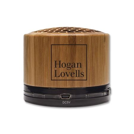 Picture of Natural Bamboo Bluetooth Speaker