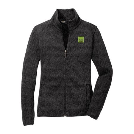 Picture of Black Port Authority® Fleece Jackets- Ladies'
