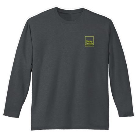 Picture of Gray Citizenship Long Sleeve Shirt - Men's