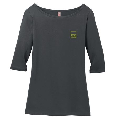 Picture of Gray Citizenship Long Sleeve Shirt - Ladies'