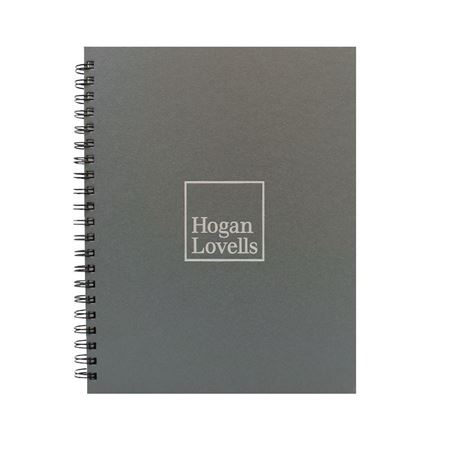 Picture of Large Metallic Notebook