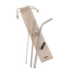 Picture of 5-Piece Stainless Steel Straw Set