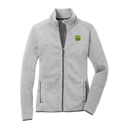 Picture of Gray Port Authority® Fleece Jackets - Ladies'