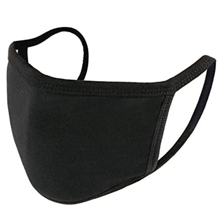 Picture of Black Cotton Face Mask