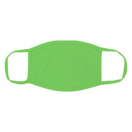 Picture of Green Cotton Face Mask